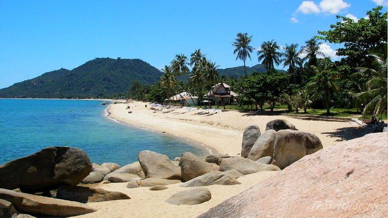 пляж острова Самуи в Таиланде