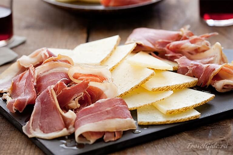 Хамон и сыр