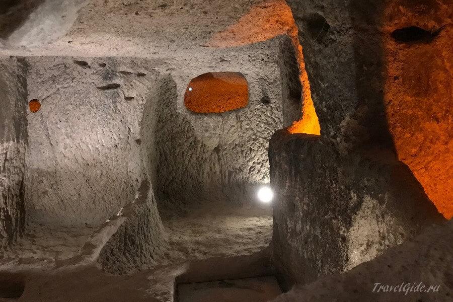Каймаклы Подземный Город