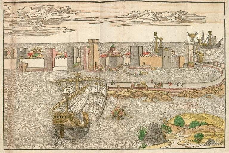 Венецианское судно