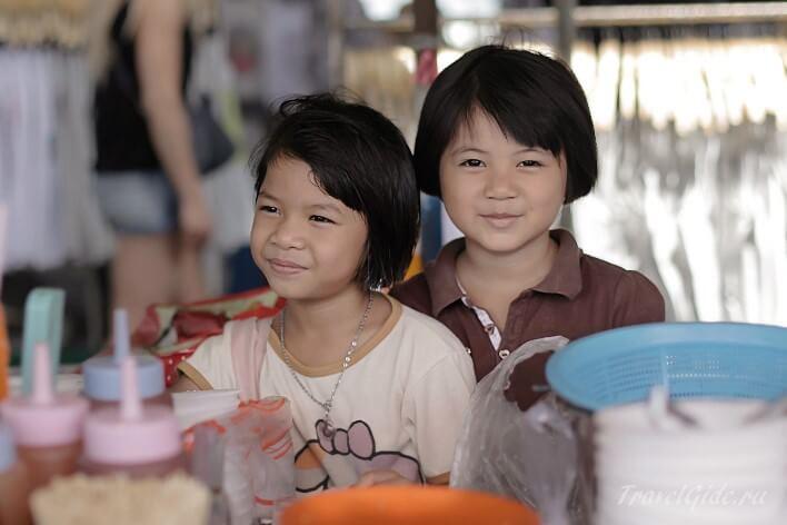 Девочки Таиланда
