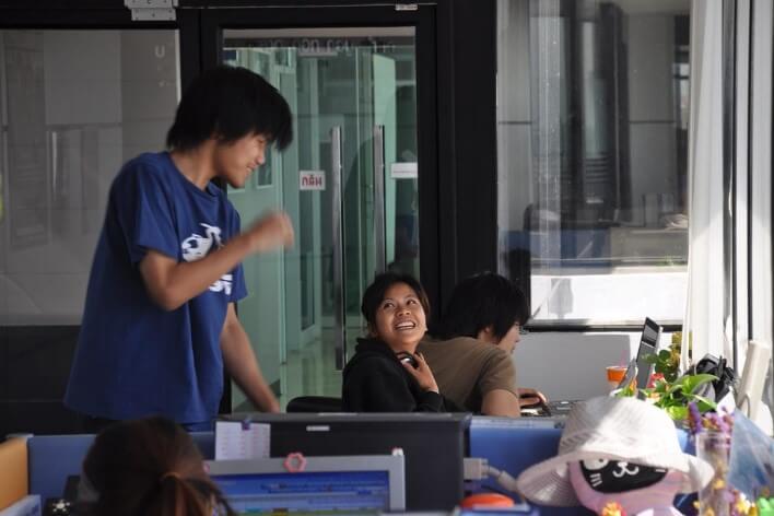 В Тайском офисе