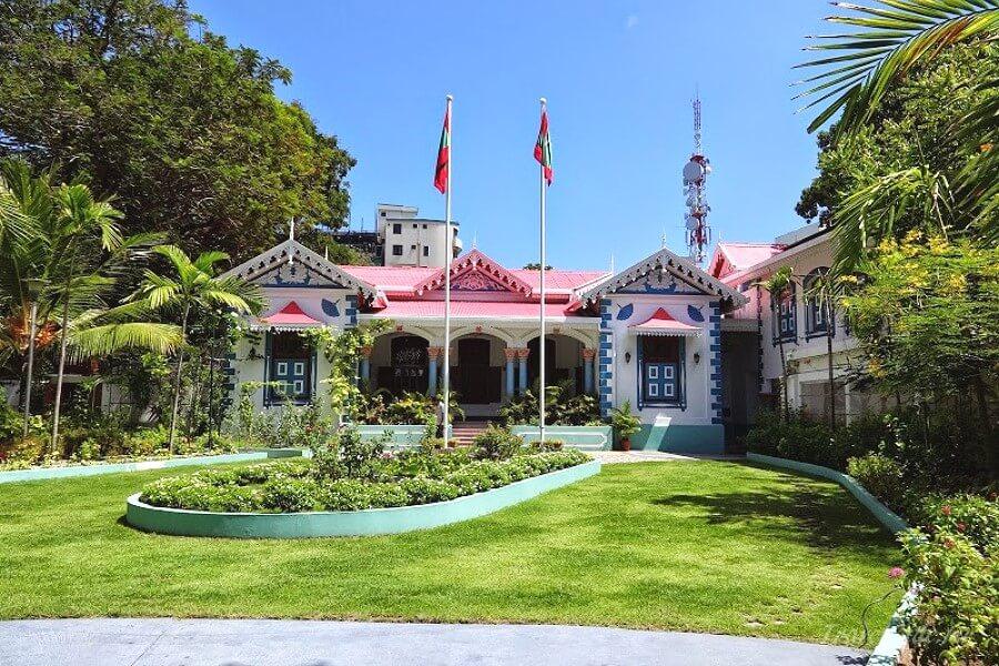 дворец султана Мухаммеда Шамсуддина III