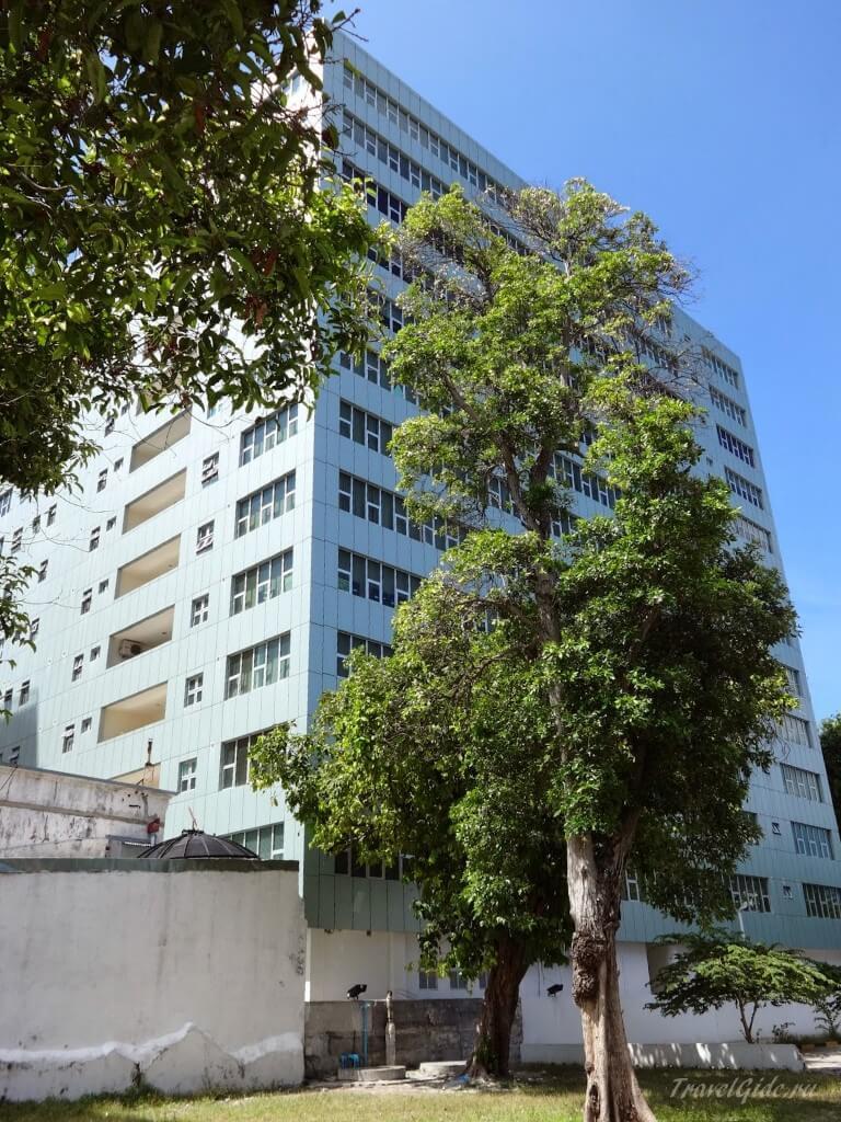 Самое высокое здание в Мале