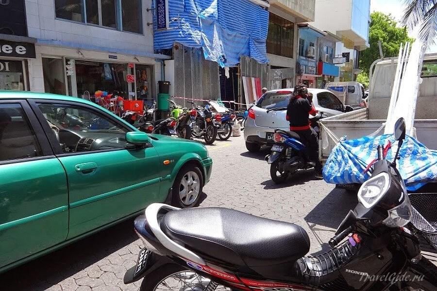 Улица в Мале