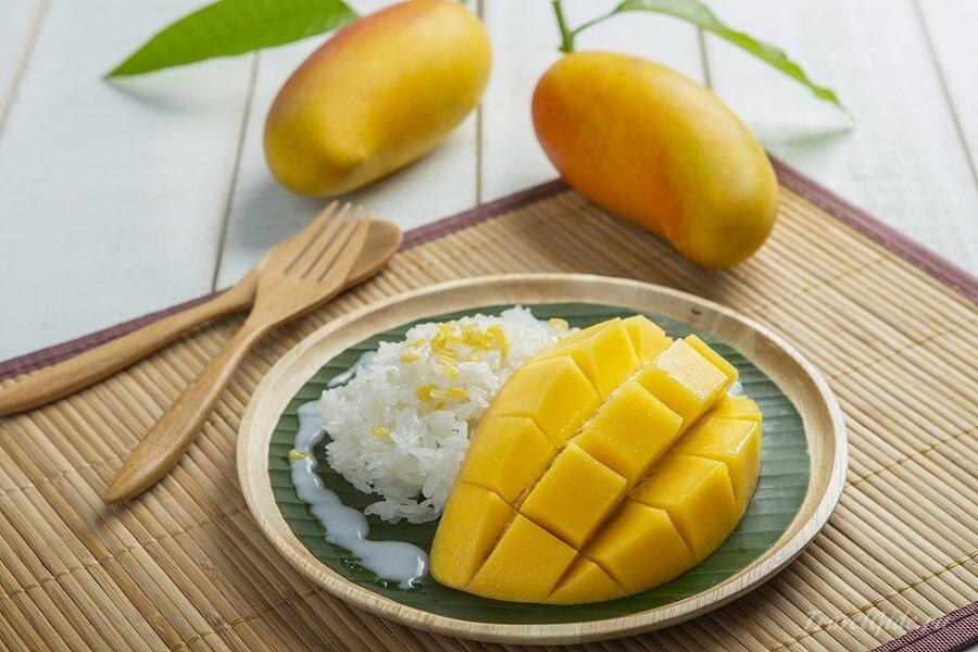 Рис с манго