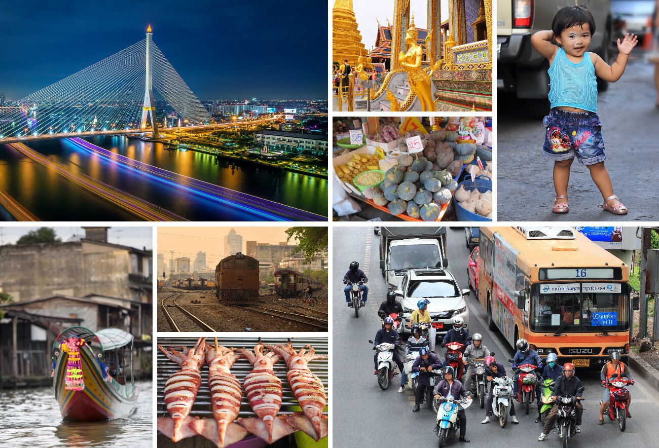 Второй коллаж Бангкок