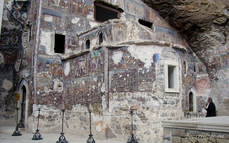 Фрески Sümela Manastiri