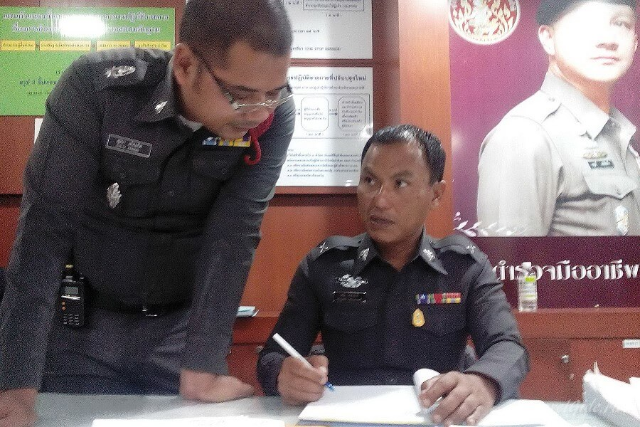 полицейские в Таиланде