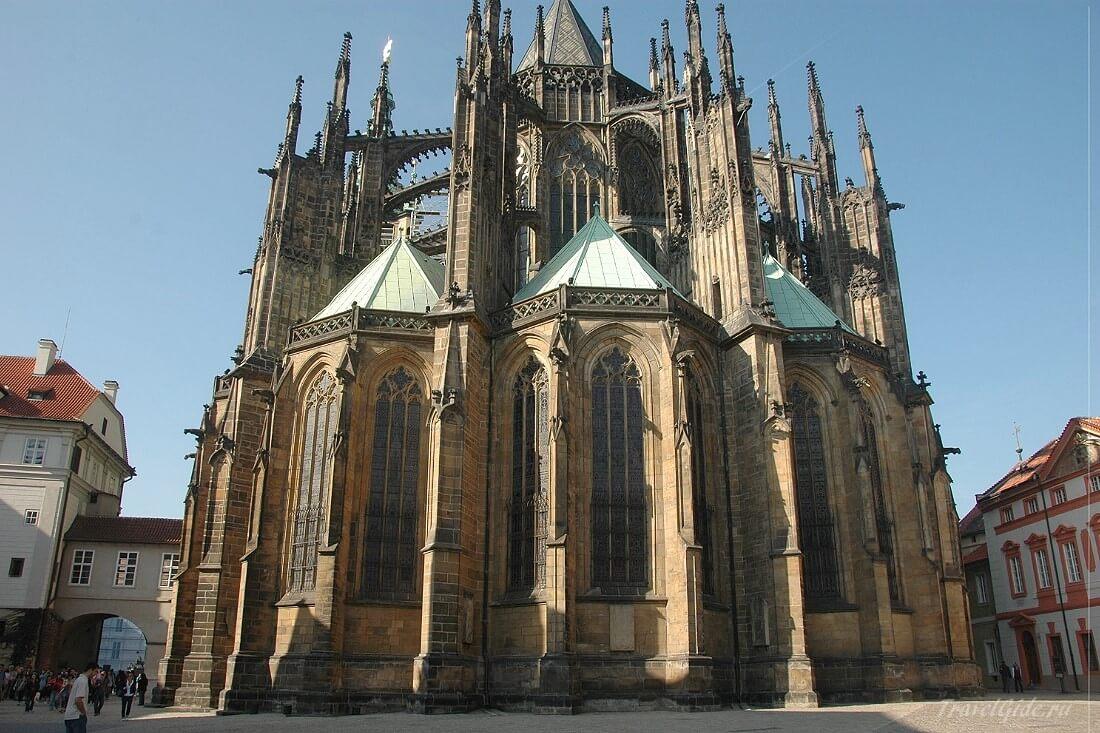 Вид первый St. Vitus Cathedral