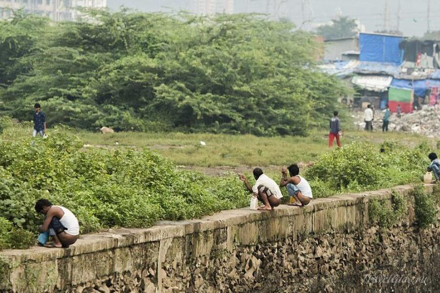 Индийцы ходят по нужде