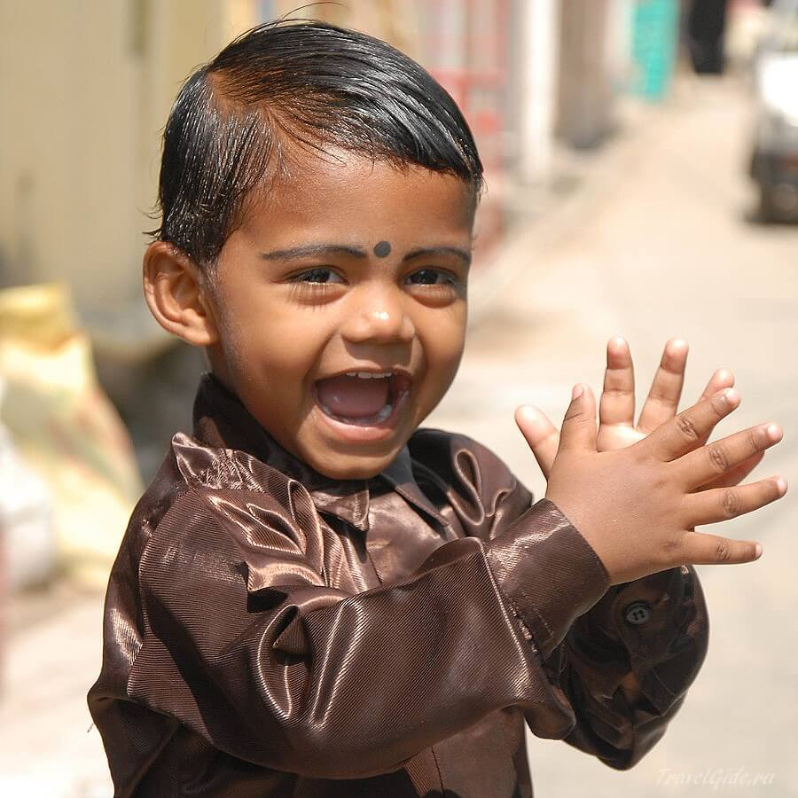 Мальчик индус