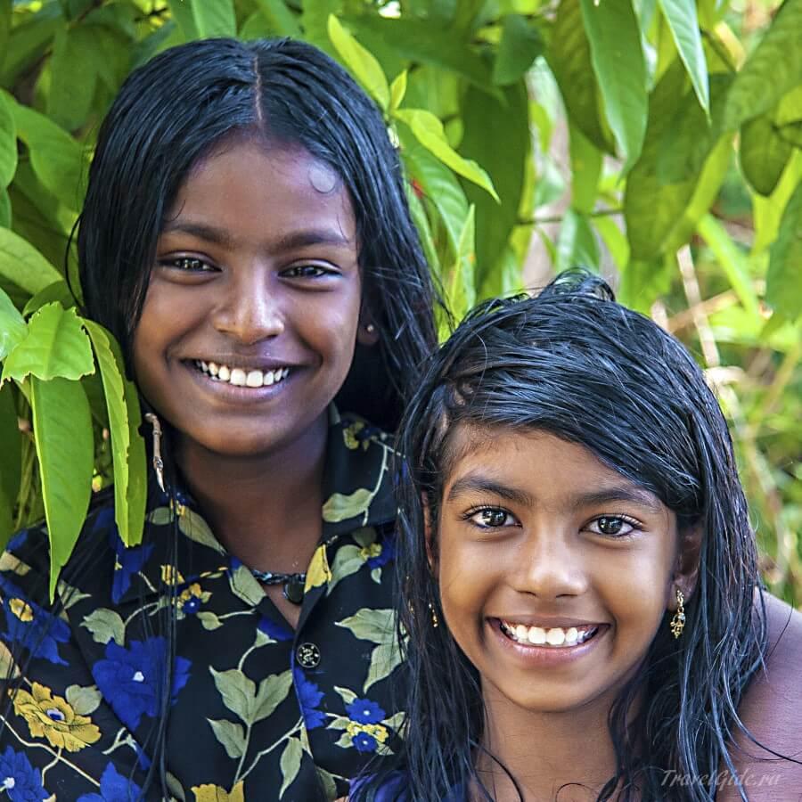 Сёстры индианки