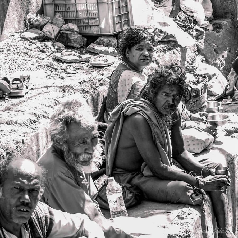 Попрошайки в Дели