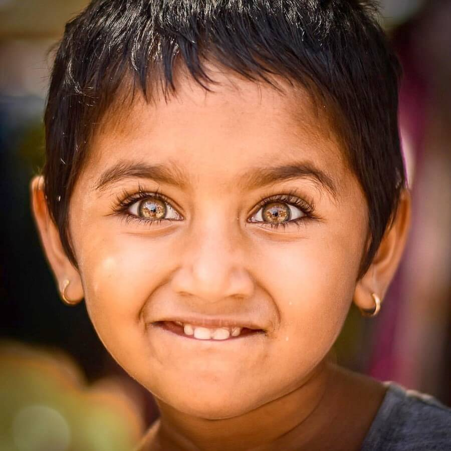 Девочка из Индии