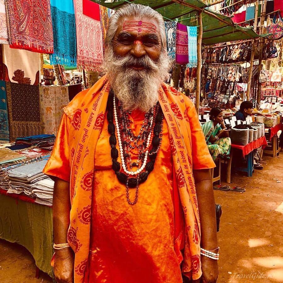Старый индус