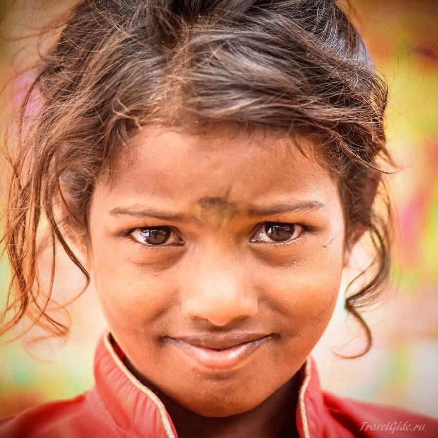 Девочка индианка