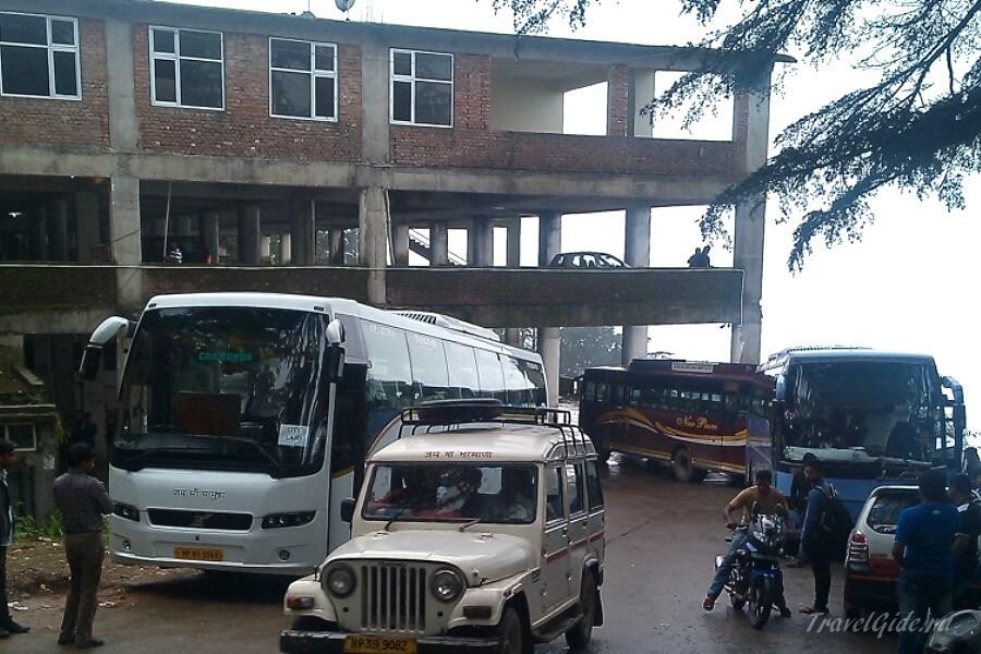 Автобусная станция Дхарамсала