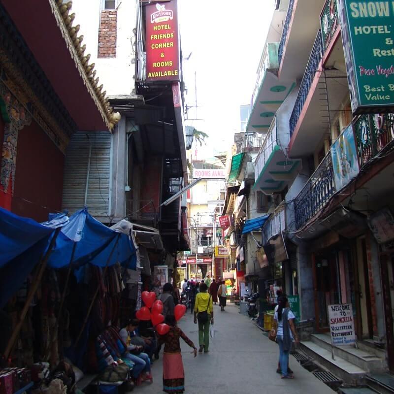 Улицы Дхарамсалы