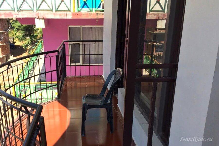 Балкон в гесте