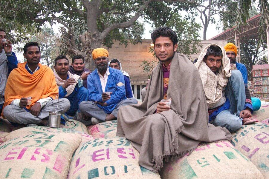 Доброжелательные индийцы