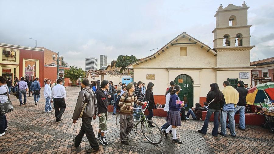 Улица Боготы