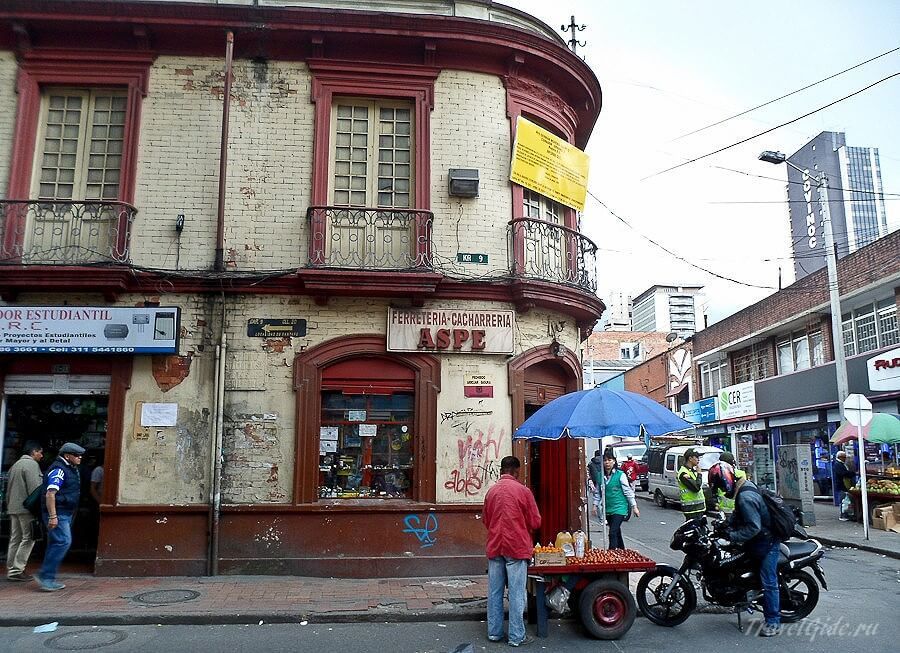 Улочки Боготы