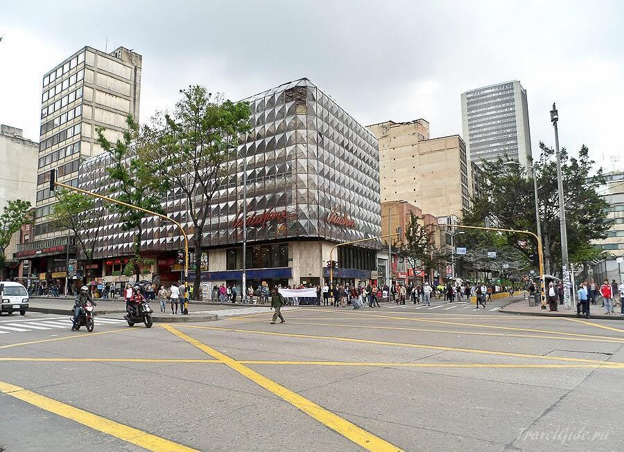 Демонстрация в столице