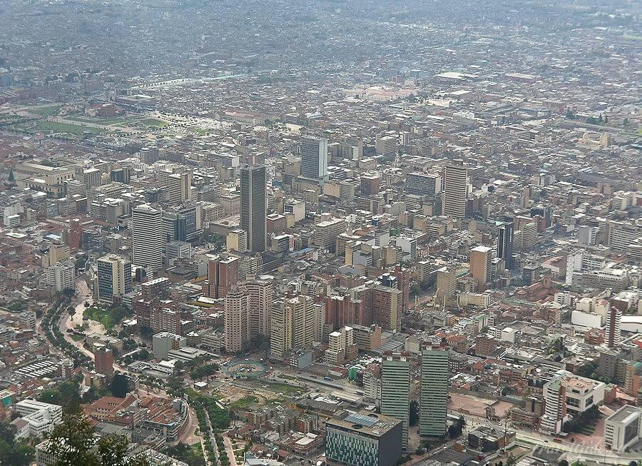 Деловой центр Боготы