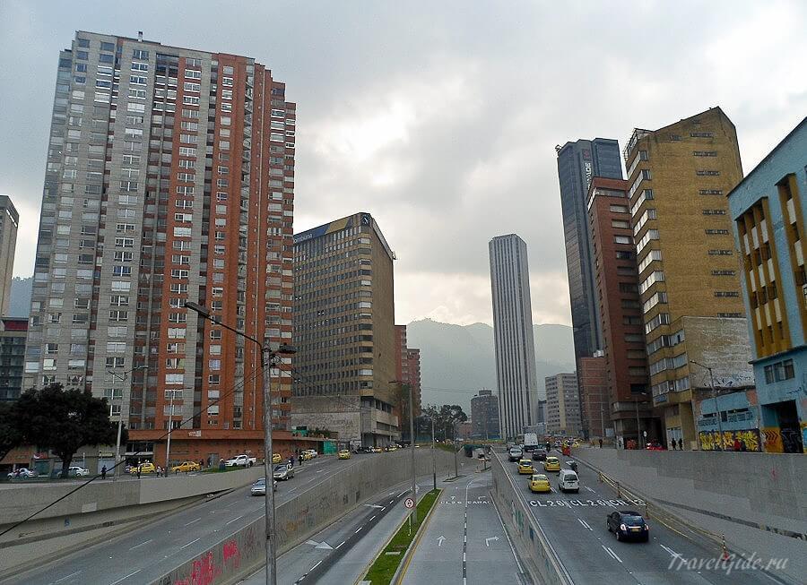 Центр Боготы
