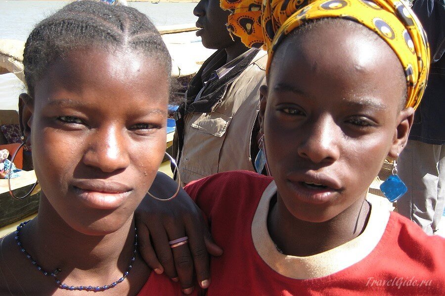 Девушки из Нигера