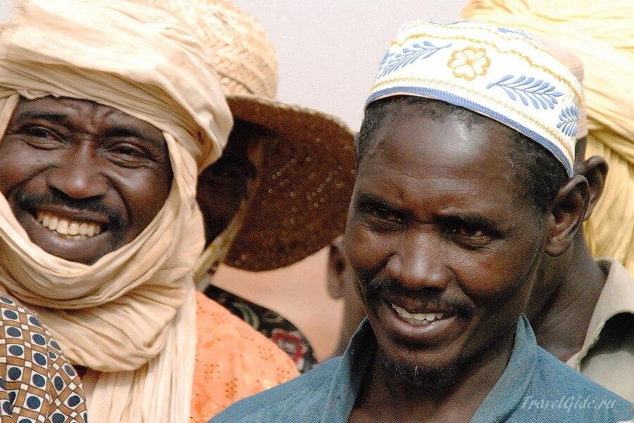 Жители нигера
