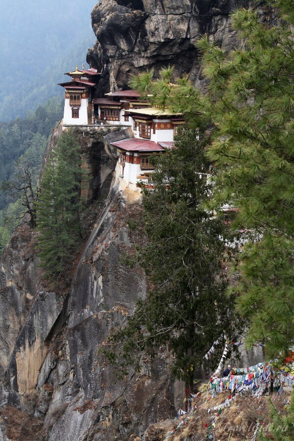 Строения в горах