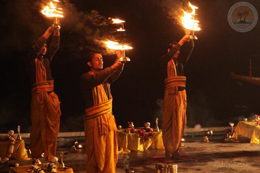 огонь на Ганге