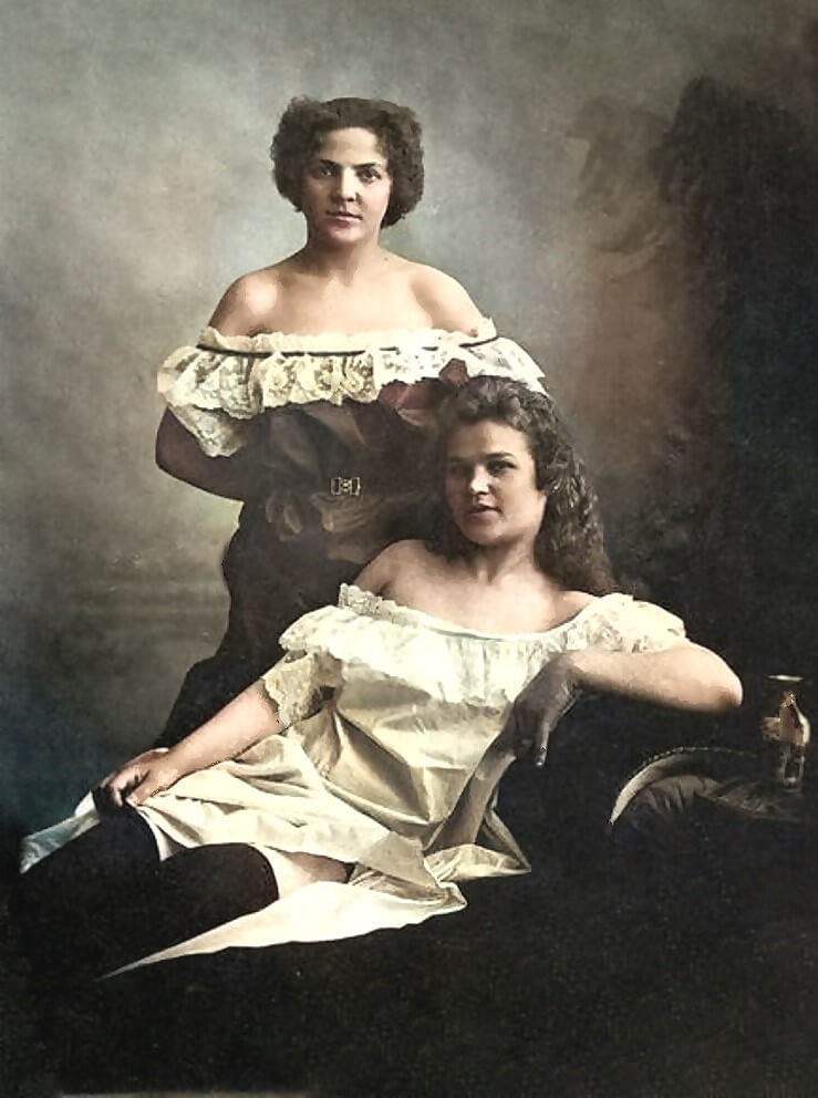 Женщины лёгкого поведения 19 век