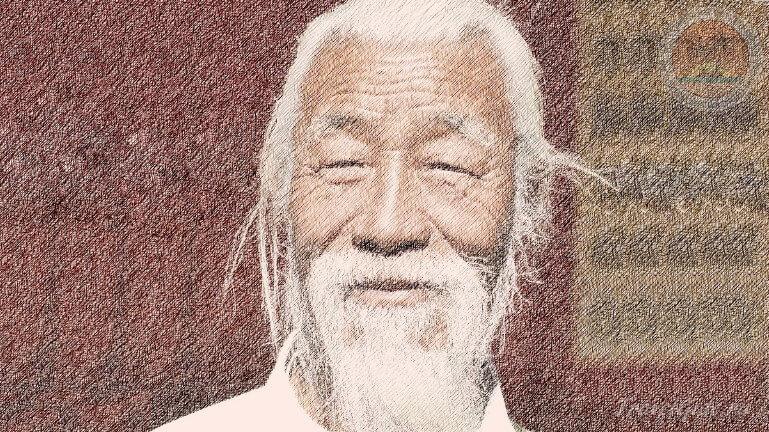Старик китаец