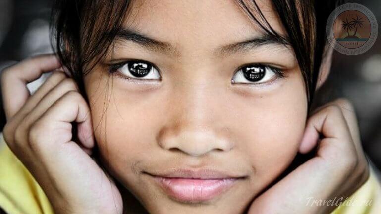 девочка из Тая