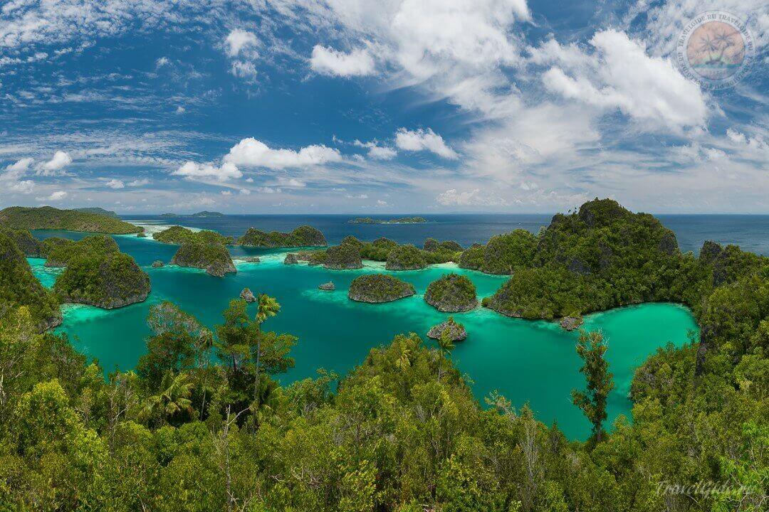 Острова архипелага Raja Ampat