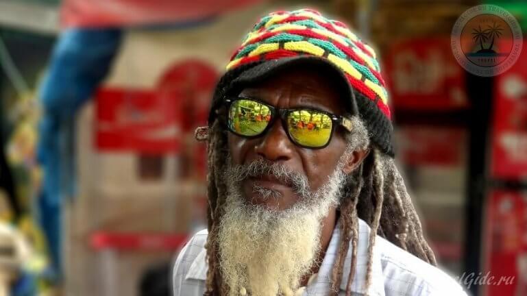 Типичный житель Ямайки