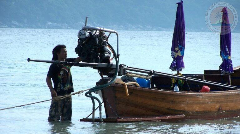 Рыбак из народа Чао ле