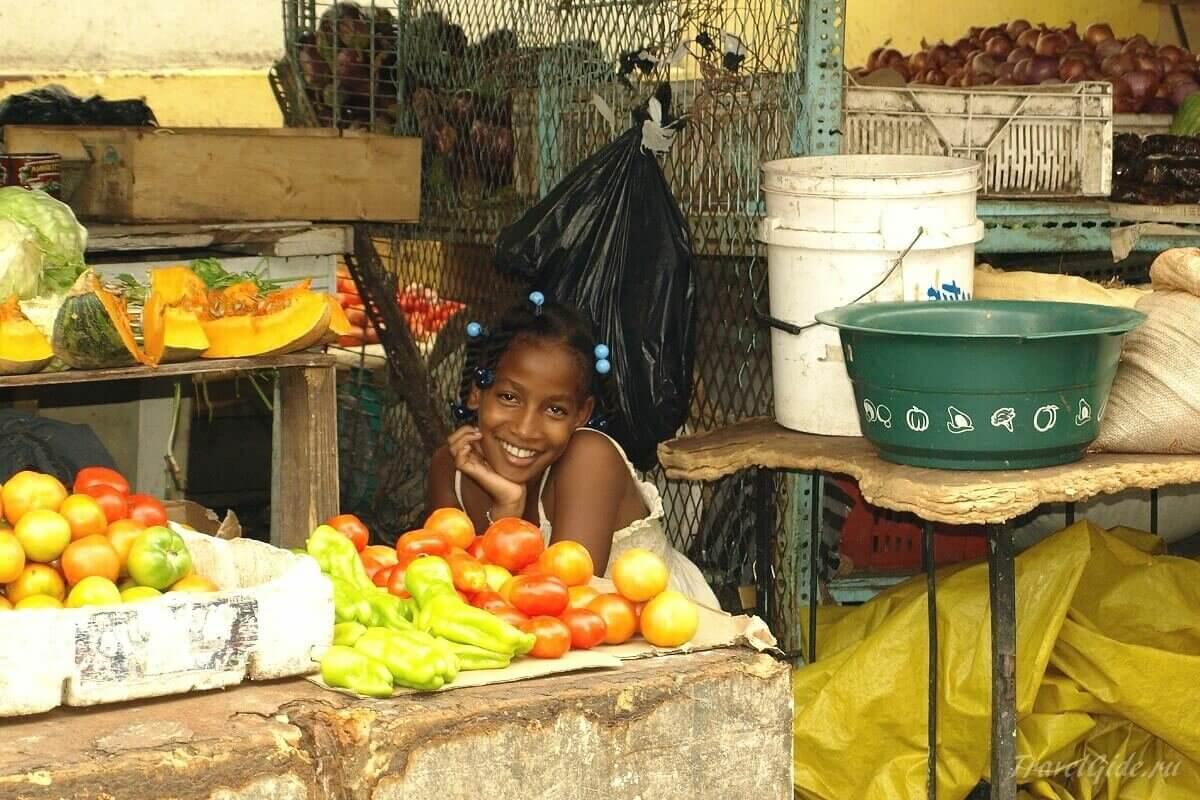 Девочка доминиканка