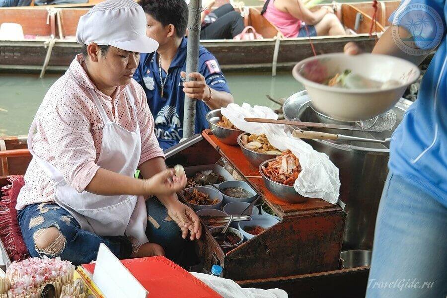 Передвижная тайская кухня