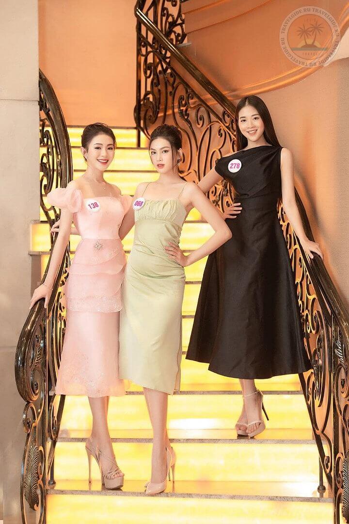 Участницы конкурса Мисс Вьетнам