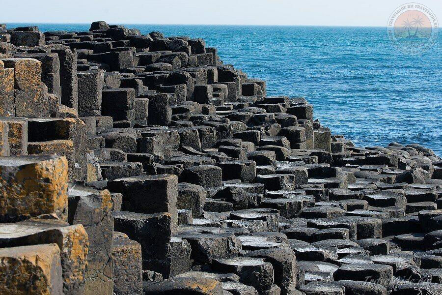 чудо света - Giant's Causeway