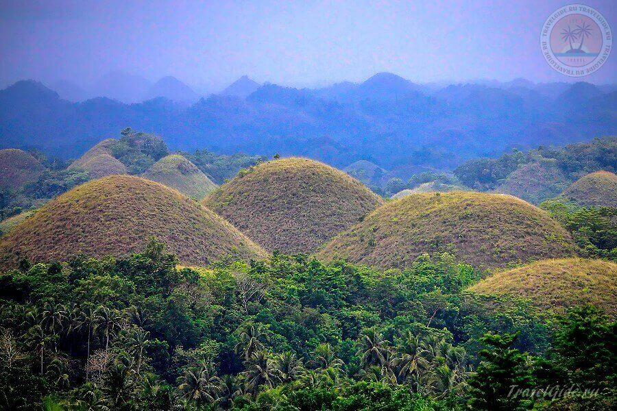 чудо света - Chocolate Hills