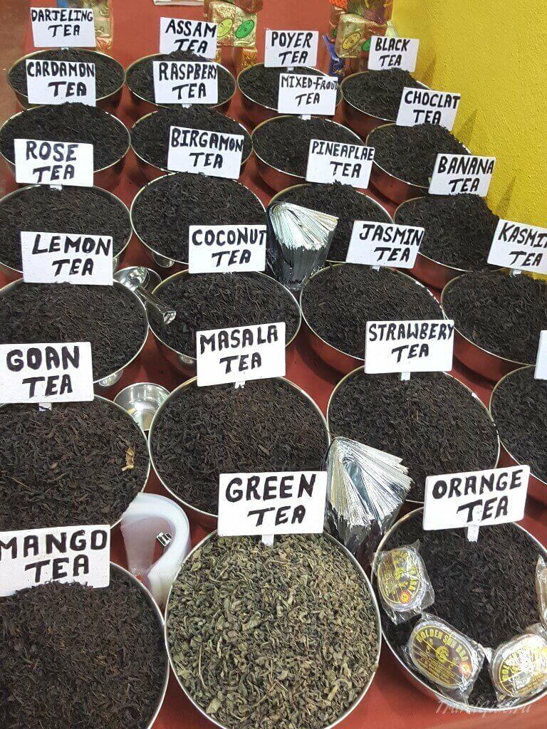 Купить на ГОА чай