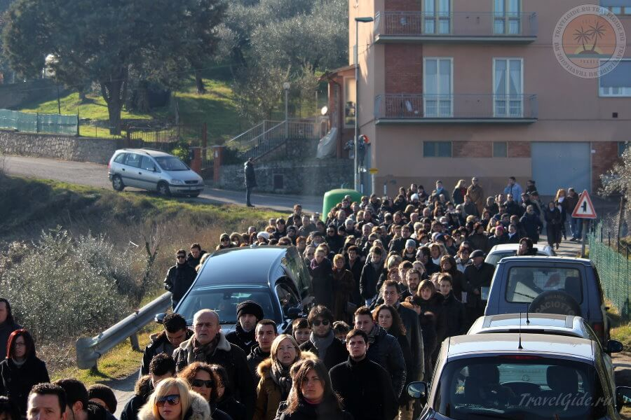 Примета Похоронная процессия в Италии