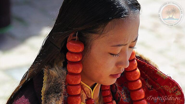 девочка с Тибета