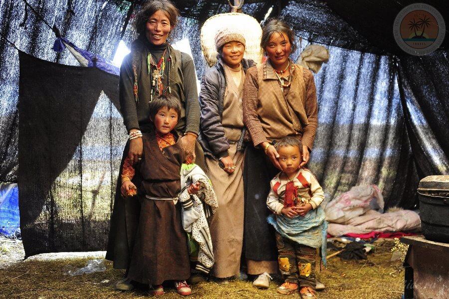 женщины Тибета