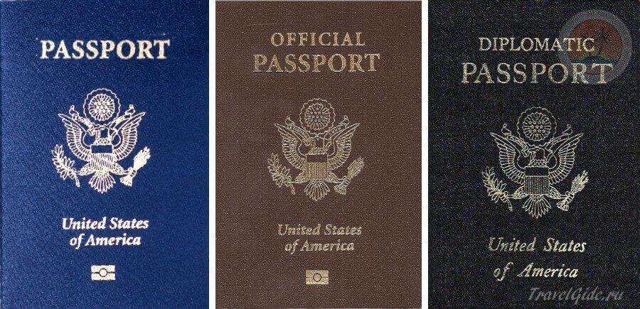 паспорта в США